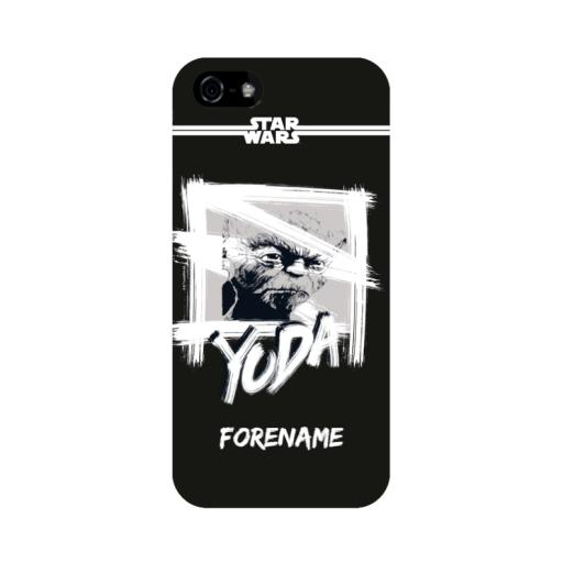 Yoda Paint iPhone 5/S/SE Case
