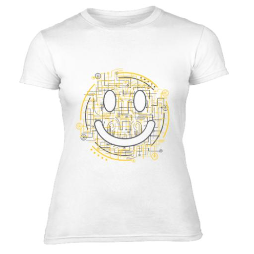Electric Smiles Women's T-Shirt