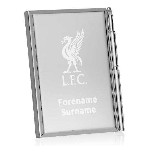 Liverpool FC Crest Address Book