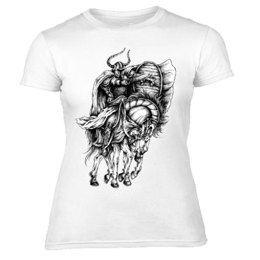 Odin God Of The Vikings Women's T-Shirt