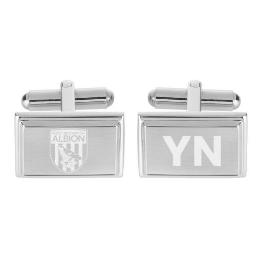 West Bromwich Albion FC Crest Cufflinks