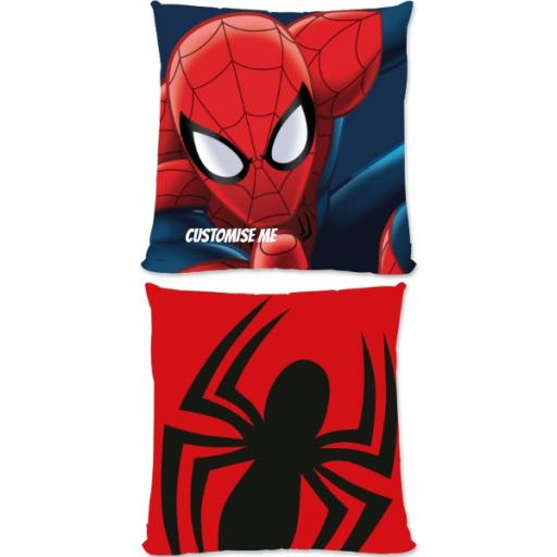 Marvel Ultimate Spider-Man Print Large Fiber Cushion