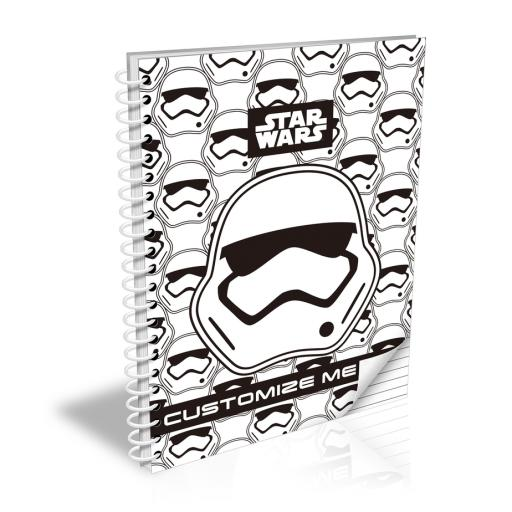 Star Wars Storm Trooper Icon A5 NotebooK