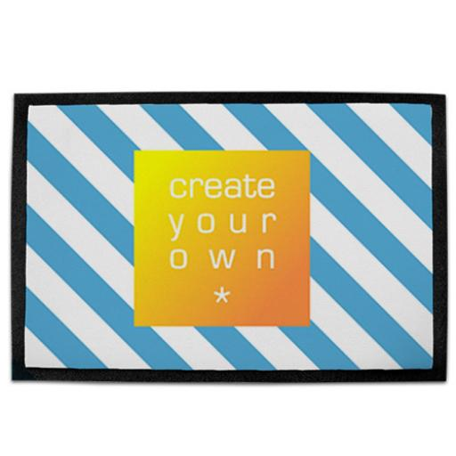 Create Your Own Rubber Pet Mat Single Sided - 41cm x 28cm