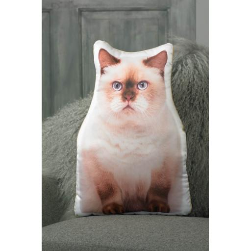 British Shorthair Cat Shaped Cushion Perfect Gift For Cat Lovers