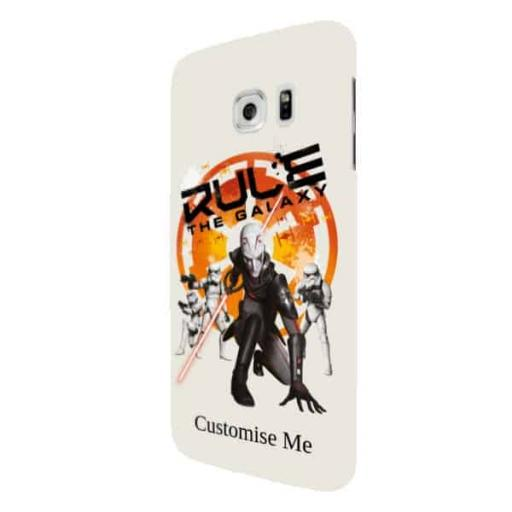 "Star Wars Rebels ""Rule The Galaxy"" Samsung Galaxy S7 Edge Clip Case"