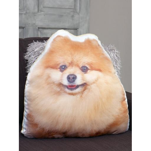 Pomeranian Shaped Cushion Perfect Gift For Dog Lovers