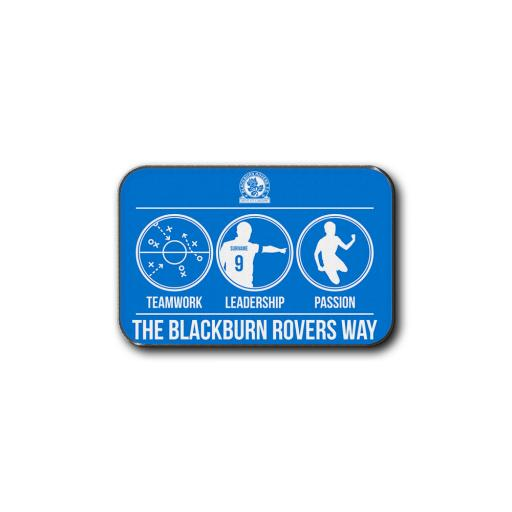 Blackburn Rovers FC Way Rear Car Mat