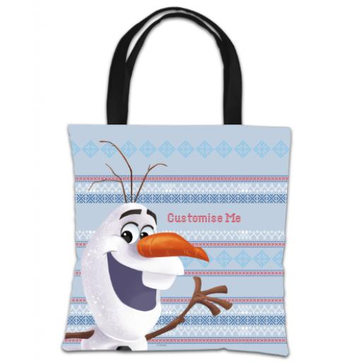 Disney Frozen Christmas Olaf Tote Bag
