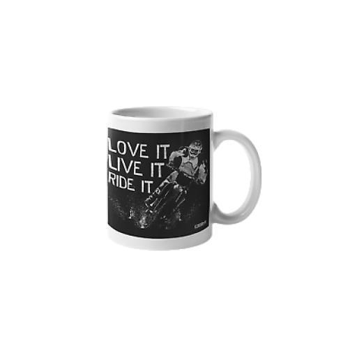 Love It, Live It, Ride It 11 oz Mug Ceramic Novelty Motor Bike Off Road Biker