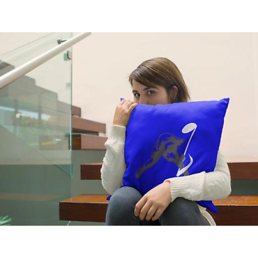 Breaking Noise Themed Cushion Cover - Decorative Smooth Linen - Musicians Gift
