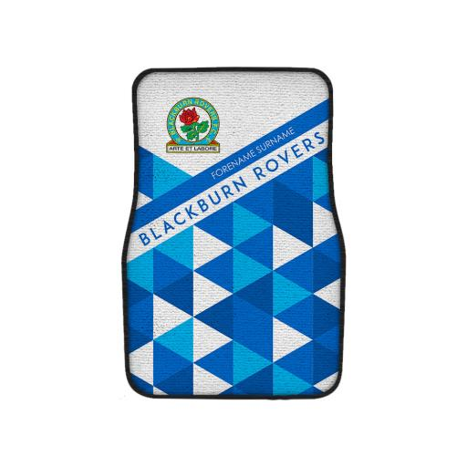 Blackburn Rovers FC Patterned Front Car Mat