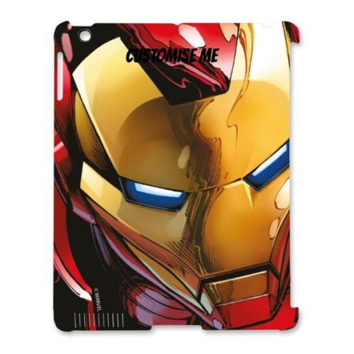 Marvel Avengers Assemble Iron Man iPad 2/3/4 Clip Case