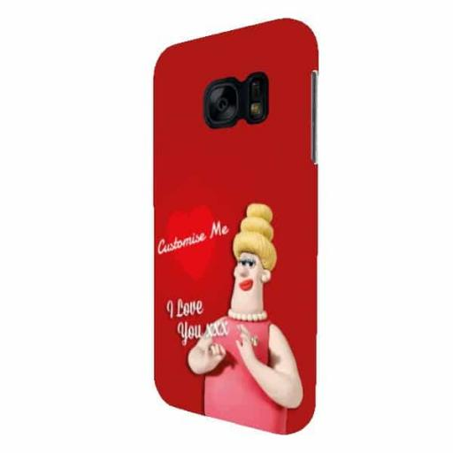 Wallace And Gromit Piella Samsung Galaxy S7 Clip Case