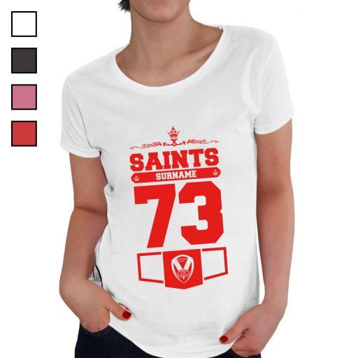 St Helens Ladies Club T-Shirt