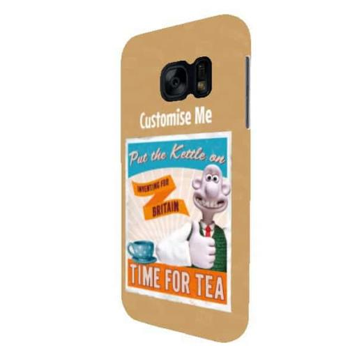 "Wallace And Gromit "" Put The Kettle On"" Samsung Galaxy S7 Clip Case"