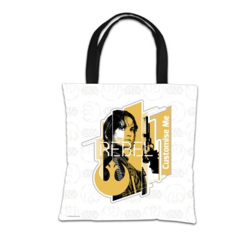 Star Wars Rogue One Jyn Erso Tote Bag