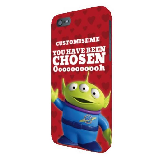 Disney Toy Story Valentines Alien You Have Been Chosen iPhone 5 /5S / 5SE Clip Case