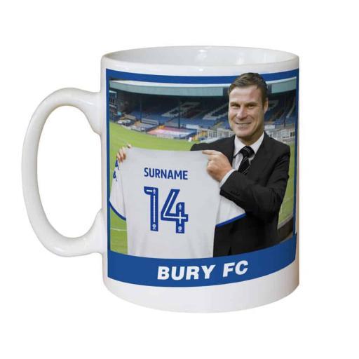 Bury FC Manager Mug