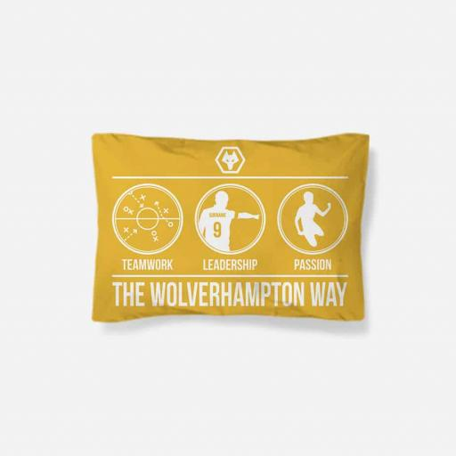 Wolves Way Pillowcase