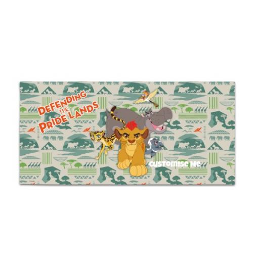 Disney The Lion Guard Group Defending The Pride Lands Large Towel