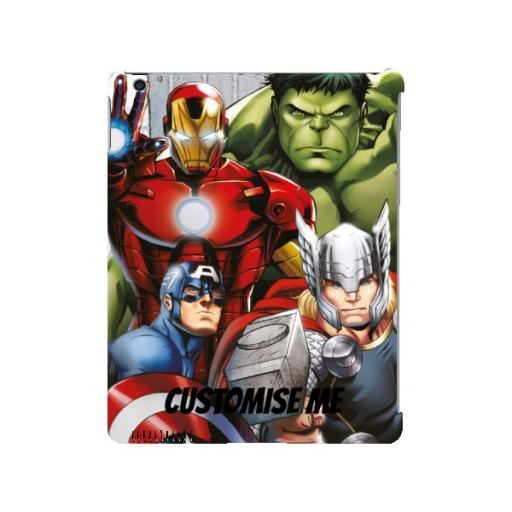 Marvel Avengers Assemble Group Scene iPad 2/3/4 Clip Case
