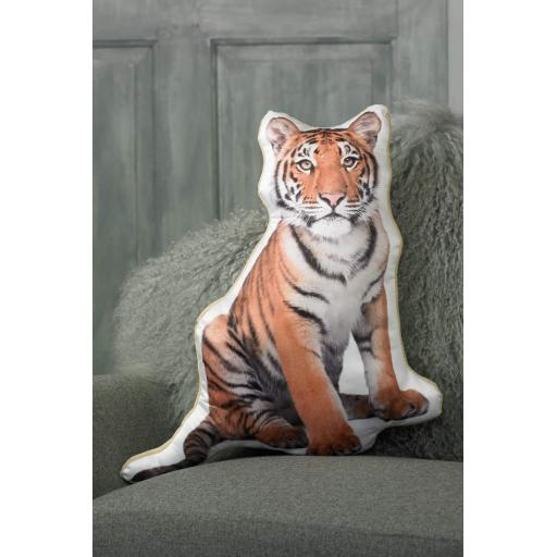 Baby Tiger Shaped Cushion Perfect Gift For Cat Lovers
