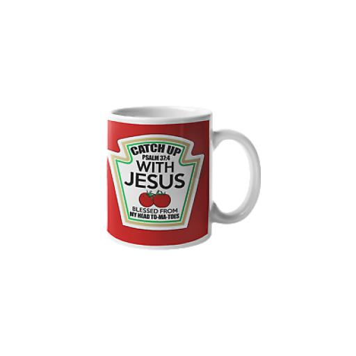 Jesus Blessed From My Head To-Ma-Toes 11 oz Mug Funny Humour Christian Gift