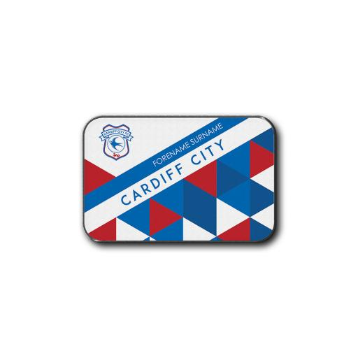 Cardiff City FC Patterned Rear Car Mat