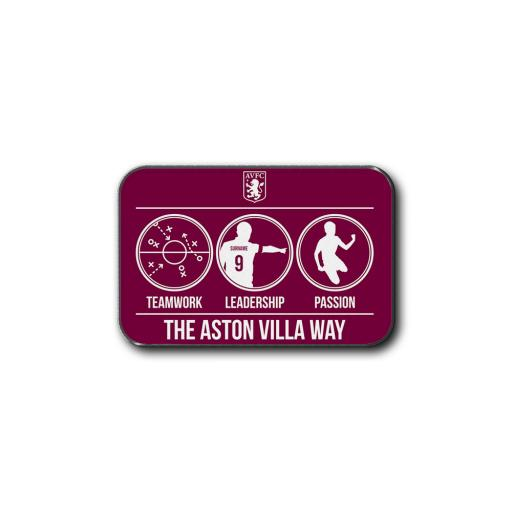 Aston Villa FC Way Rear Car Mat