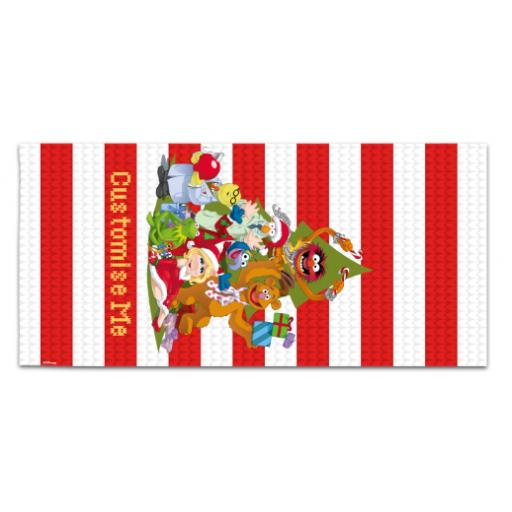 Disney The Muppets Christmas Group Large Towel