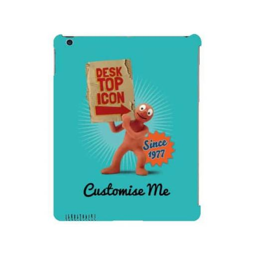 Aardman Morph Desktop Icon iPad 2/3/4 Clip Case