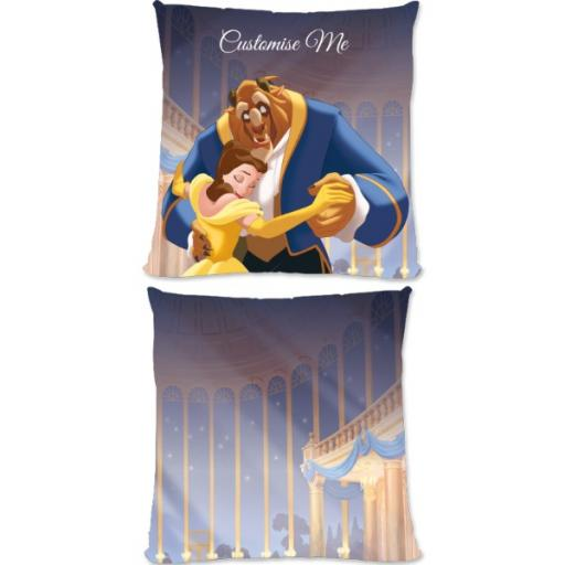 Disney Beauty and the Beast 'Ballroom' Large Fiber Cushion