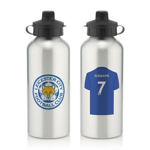 Leicester City FC Aluminium Water Bottle