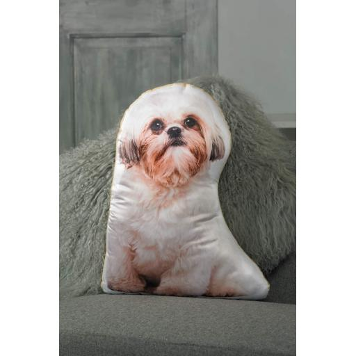 Shih Zu Shaped Cushion Perfect Gift For Dog Lovers