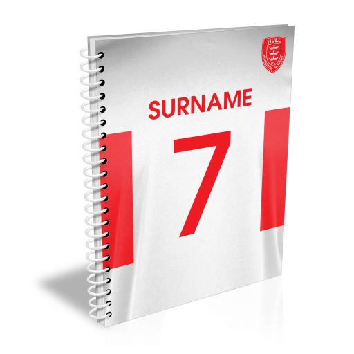 Hull Kingston Rovers Shirt Notebook