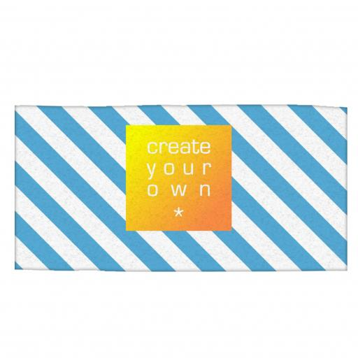 Beach Towel - Polyester - White - single sided - 70cm x 150cm