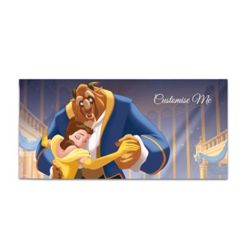Disney Beauty and the Beast 'Ballroom' Large Towel