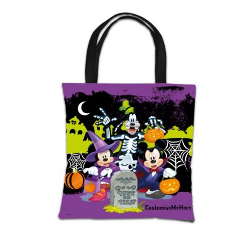 Disney Mickey Mouse & Friends Halloween 'Boy What Fun!' Tote Bag