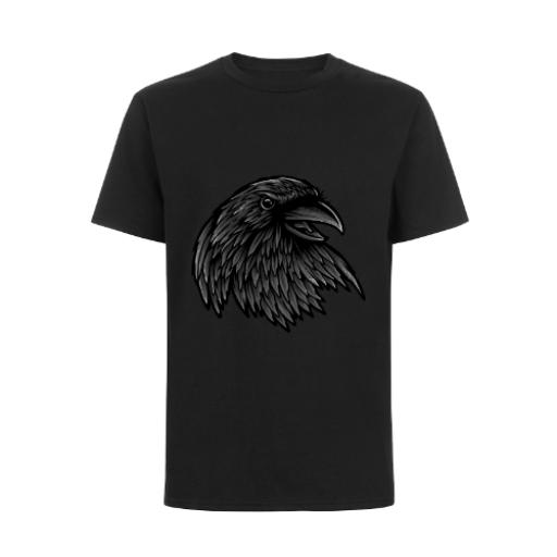 The Rise Of The Raven Fantasy Style Design T-Shirt