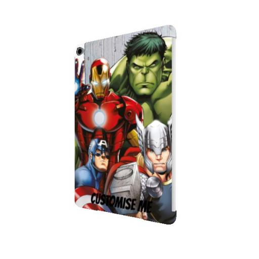 Marvel Avengers Assemble Group Scene iPad Air 2 Clip Case