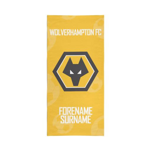 Wolves Crest Travel Towel