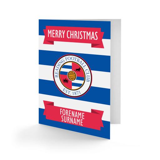 Reading FC Crest Christmas Card