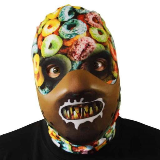 Cereal Killer Mask - Light Weight- Breathable- Great For Halloween & Parties