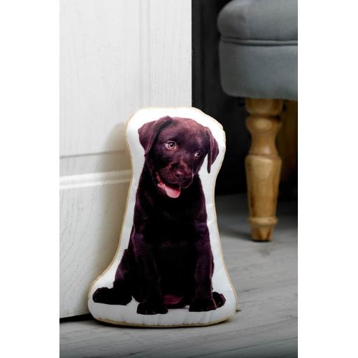 Labrador Lovers-Vivid Image Labrador Shaped Doorstop