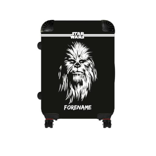 Star Wars Chewbacca Paint Large Suitcase
