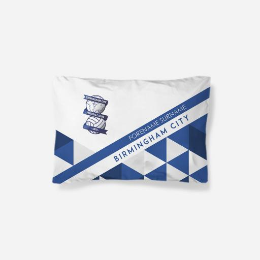 Birmingham City FC Patterned Pillowcase