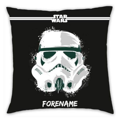 Star Wars Storm Trooper Paint Cushion 45 x 45