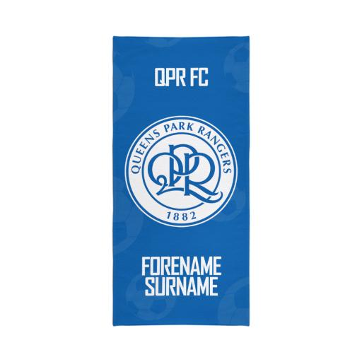 Queens Park Rangers FC Crest Travel Towel