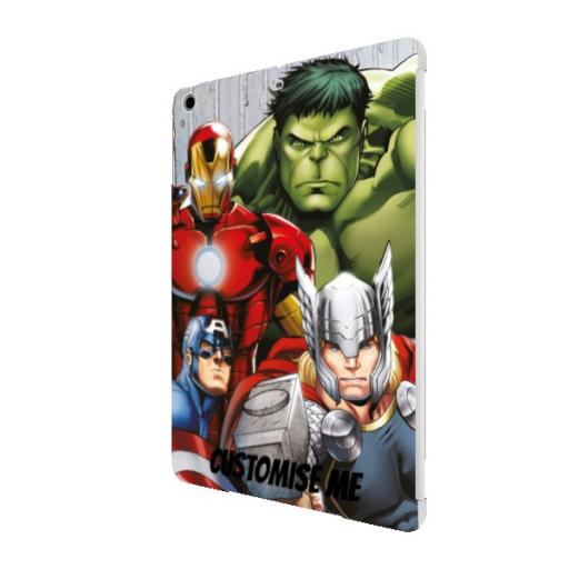 Marvel Avengers Assemble Group Scene iPad Air Clip Case